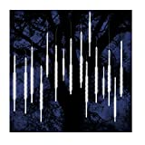 ohCome Meteor Shower Rain Drop Lights 50cm 10 Spiral Tubes 540 LEDs Waterproof Icicle...