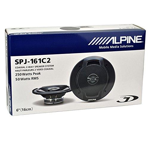 "Alpine SPJ-161C2 6"" Coaxial Car Speakers"