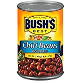 Red beans simmered in a mild sauce with chili peppers, tomatoes and cumin Cholesterol-free Naturally gluten-free 7g of protein, 7g of fiber 16 ounce can