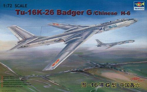 Trumpeter 01612 Modellbausatz Tupolev Tu-16K 26 Badger