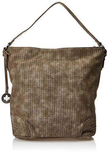 Rieker Damen H1422 Schultertasche, 30x29x5,5 cm