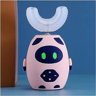 Orale Reiniging Ultrasone kinderen elektrische 3 versnellingssnelheid met siliciumdioxide borstelhoofden voor 2-12 leeftij...