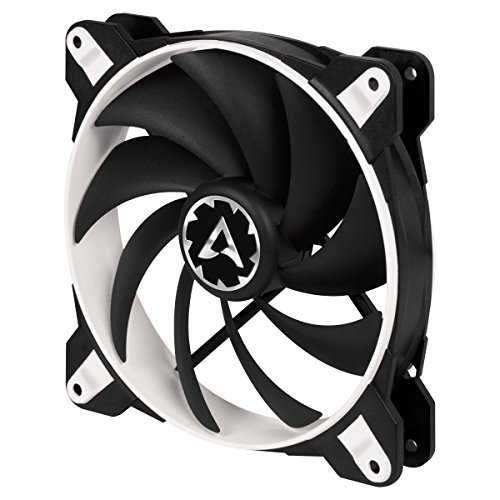 ARCTIC BioniX F140 – 140 mm Ventilador de Caja para CPU con PWM Sharing Technology (PST), Motor Trifásico Muy Silencioso, Computadora, 200-1800 RPM – Blanco