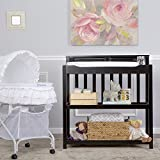 Dream On Me Zoey 3 in 1 Convertible Changing Table in Black