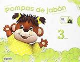 Pompas de jabón 3 años. Proyecto Educación Infantil 2º Ciclo [lote de 3 libros, uno para cada trimestre] - 9788490670002