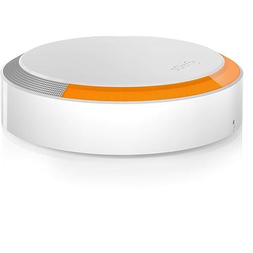 SOMFY - Sirène Extérieure | Sirène Extérieure 112 dB avec Flash Lumineux | Compatible avec Somfy One et Somfy Home Alarm | Batterie Remplaçable (2 ans) | Installation Facile | App pour iOS/Android