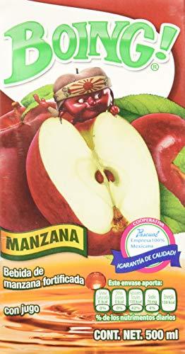 Jugo Del Valle Manzana marca Boing