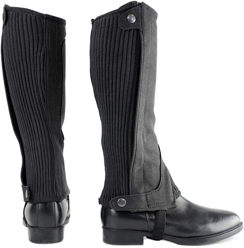 Long Beach Mall HyLAND Adults Amara Half Chaps Challenge the lowest price of Japan