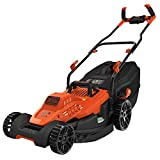 BLACK + DECKER BEMW481BH-GB Lawn Mower with Bike Handle, 1800 W, 240 V, 42 cm
