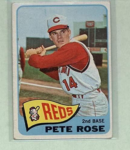 1965 Topps Tucson Mall #207 Pete Rose Cincinnati MLB Now on sale Reds VG Card Baseball E