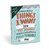 Emily McDowell & Friends Feels Terrible Fill in the Love Book Fill-in-the-Blank Gift Journal, 4.10 x 5.40-inches