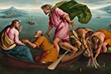 // TPCK // Jacopo Bassano - The Miraculous Draught of Fish (1545) - Póster de...