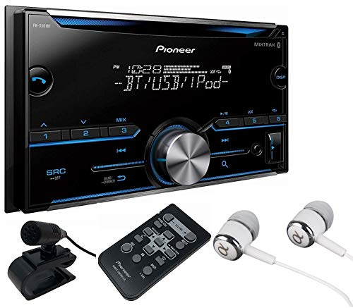 Pioneer FH-X700BT In-Dash Double DIN CD/MP3/USB Car Stereo Receiver w/ Bluetooth, Pandora Link,...