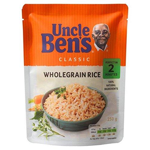 Uncle Ben's Classico Integrale Mikrowelle 250 g Reis, 6 Stück