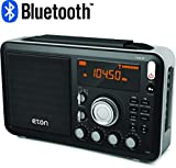 Eton Field AM / FM / Shortwave Radio with RDS and Bluetooth, NGWFBTB & Sangean ANT-60 Short Wave Antenna