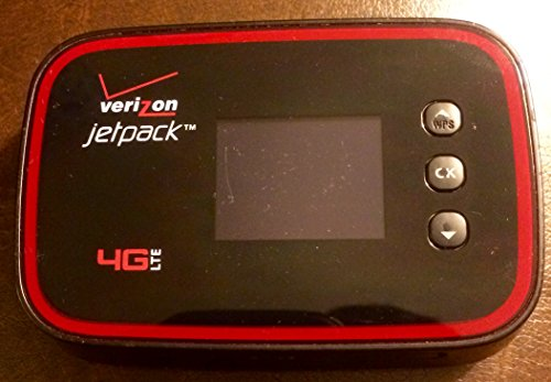 Verizon Wireless MHS291L Jetpack 4G LTE Global Ready Mobile Hotspot with No Warranty - No Contract