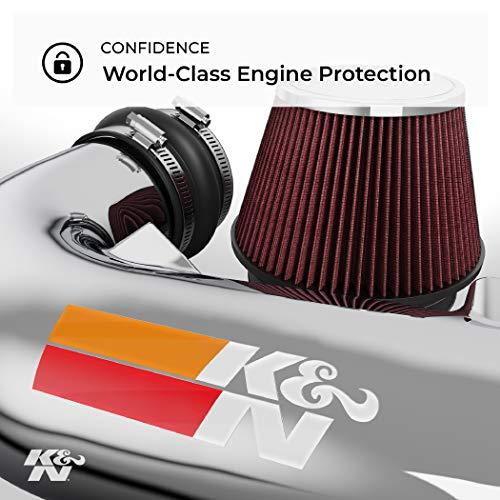 K&N Cold Air Intake Kit: High Performance, Guaranteed to Increase Horsepower: Fits 2014-2018 Mazda 3, Mazda 6, 2.5L L4, 69-6032TS