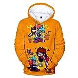 Popular Friday Night Funkin 3D Hoodies Casual Tops Niños/Niñas Casual Slim Pullover Comfatable Kids Hoodie child-120