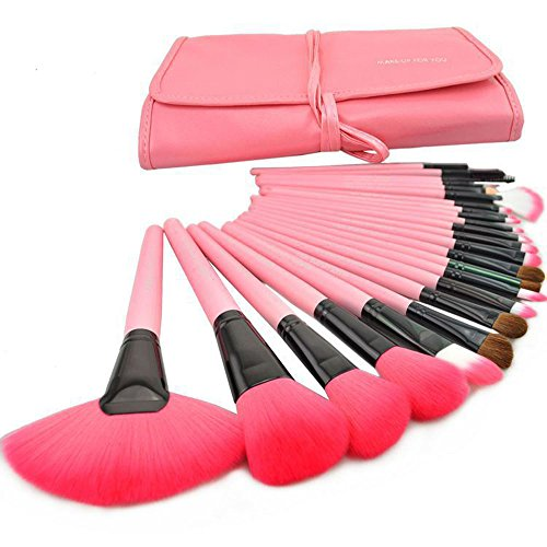 Cosmetic makeup brushes wool 7th anniversary gifts