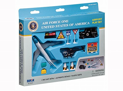 Daron Worldwide Trading RT5731 Air Force One Coffret 9 pce