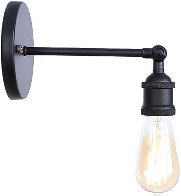 Personnalité post-moderne industrielle et rurale et les caractéristiques créatives sont simples, salle de livre, boudoir nouvelle maison, lampe à paroi unique électrolytique