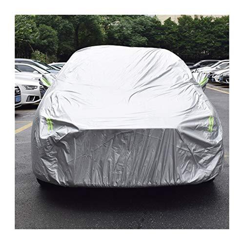 Parasol para coche Cubierta impermeable for la capa de coche universal del coche cubierta for el hielo de la nieve polvo UV Crema protectora resistente al aire libre a prueba de polvo Protección Vehíc