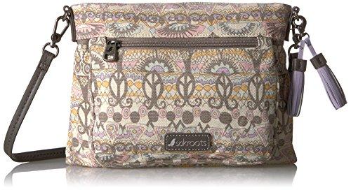 Sakroots womens Women's Camden Cross Body Handbag, Pastel One World, One Size US