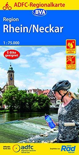 ADFC-Regionalkarte Region Rhein/Neckar, 1:75.000, reiß- und wetterfest, GPS-Tracks Download (ADFC-Regionalkarte 1:75000)