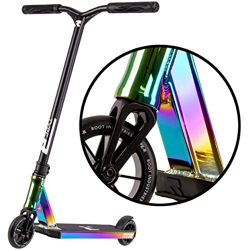 Type R Complete Pro Scooter - Pro Scooters - Pro Scooters for Adults / Pro Scooters for Kids - Quality Scooter Deck, Pro Scooter Wheels, Pro Scooter Bars - Awesome Colors (Rocket Fuel)