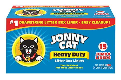 JONNY CAT Heavy Duty Litter Box Liners Jumbo 15 Count C00150