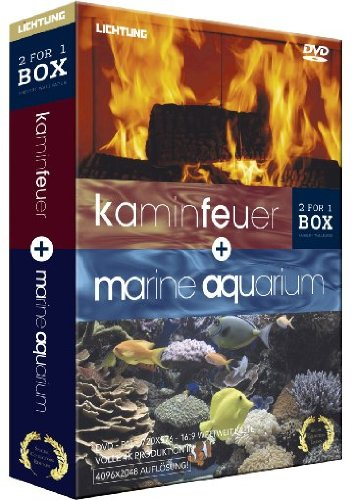 Kaminfeuer / Marine Aquarium - [DVD] Box [Special Collector's Edition]