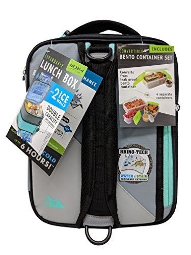 Arctic Zone Expandable Lunch Box, 1, Light Gray