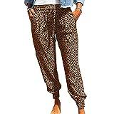 Pantalones Casuales Estampados De Moda Suelta De Verano Nuevas Mujeres