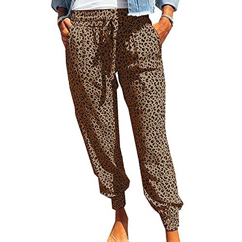 Pantaloni Casual Stampati Moda Larghi delle Nuove Donne Estive