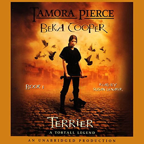 Beka Cooper Book 1 audiobook cover art
