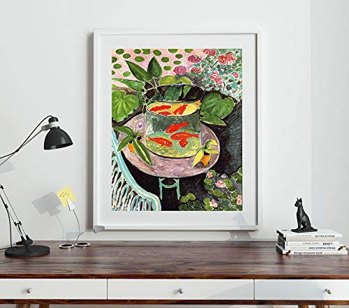 WallBuddy The Goldfish by Matisse Henri Matisse Gemälde, 8 x 10