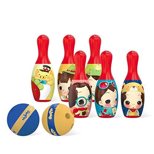 ADLIN Al Aire Libre Juguetes educativos, Juguetes de los niños Bowling Set, Espuma Bolos Juguetes, Juegos al Aire Libre de Interior Bolos for el Desarrollo Temprano/Deportes/Preescolar for niños /