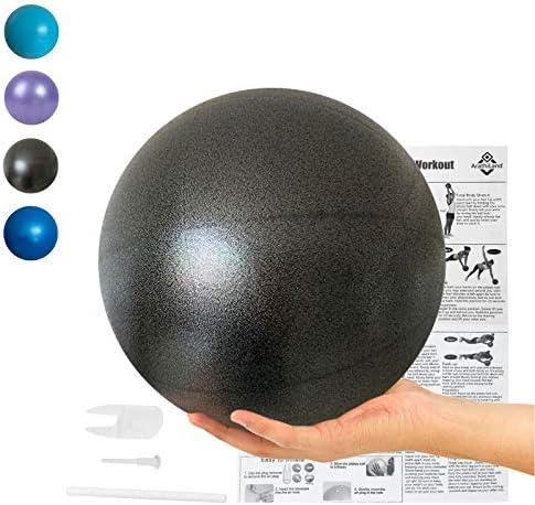 Mini Yoga Exercise Pilates Ball Therapy Balance Bender Anti Burst Balls Barre Equipment for product image