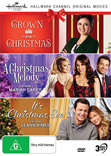 Hallmark Christmas 3 Film Collection (Crown for Christmas/A Christmas Melody/It's Christmas Eve)