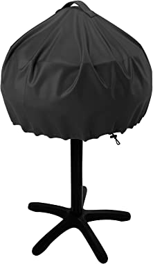 NUPICK Grill Cover for George Foreman 15-Serving GGR50B, GFO3320, GFO240 Electric Grill, Easy Take Off Handle Design, All Wea