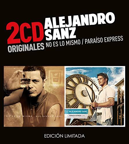 Alejandro Sanz -No Es Lo Mismo / Paraiso Express (2 CD)