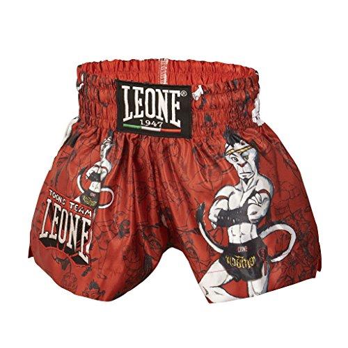 Leone 1947 AB761 Boxhose, Unisex Kinder, rot, S