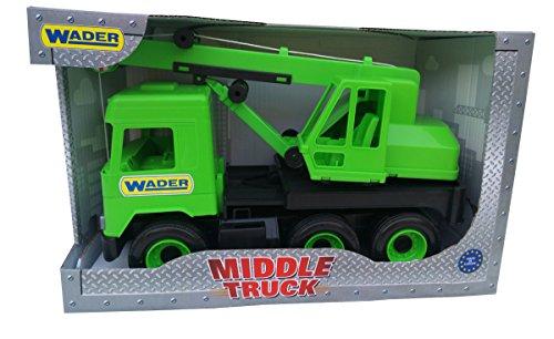 Tigres 32102 Middelbelastbare kraan in kartonnen doos, kleur groen, eenheidsmaat