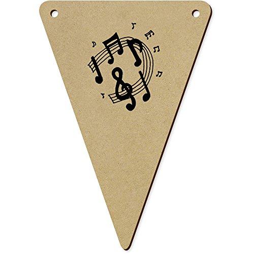 Azeeda 5 x 140mm 'Musik-Icons' Wimpelkette / Girlande (BN00052056)