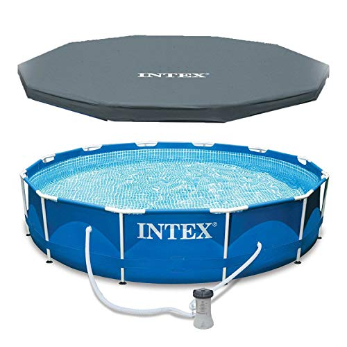 Intex 28211EH 12-Foot x 30-inch Metal Frame Round...