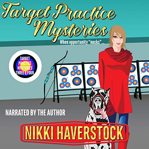 Target Practice Mysteries 3 & 4 audiobook cover art