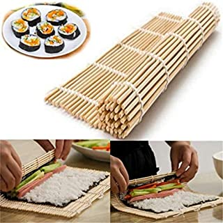 ZOUJIN Sushi Roll Mat Maker Kit Rice Roller Bamboo Mold Mould Kitchen DIY
