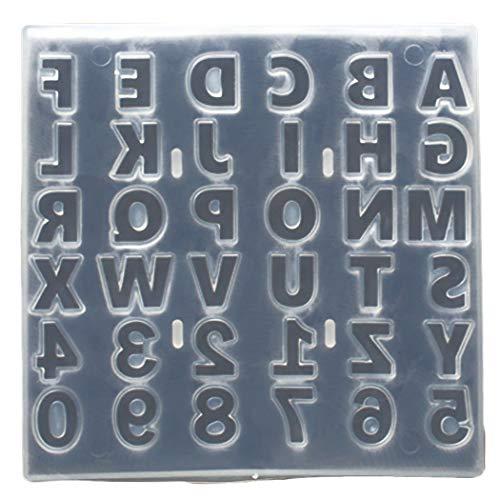 JUSTDOLIFE cakevorm creatieve DIY 36 Cavity Letter Number fondant vorm chocolade vorm