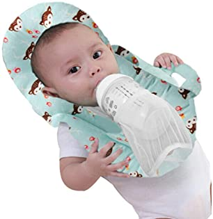 Baby Portable Detachable Feeding Pillows Self-Feeding Support Baby Cushion Pillow (Blue 2)