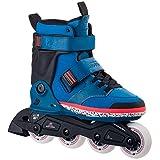 K2 Adulte Inline Skates Midtown 2 M, Noir, Bleu, Rouge, 8,5 US, 30A0015.1.1.085 Rollers en Ligne Mixte, 41.5